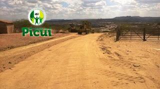 Prefeitura de Picuí dá início à recuperação de estradas vicinais