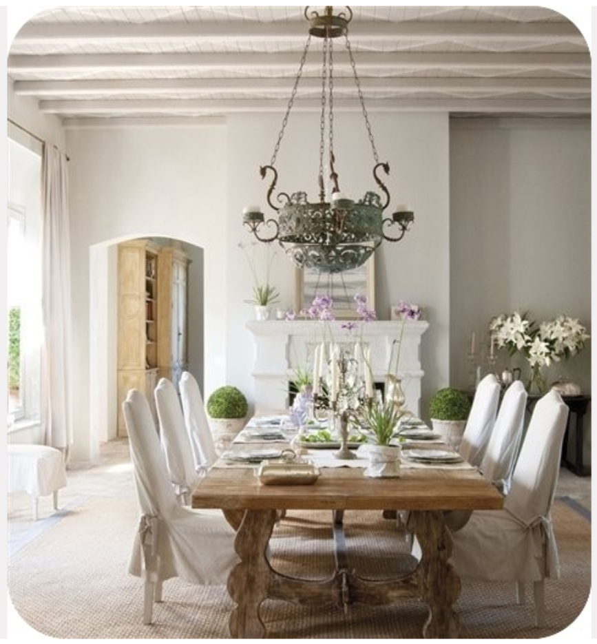 Simple Elegant Dining Room