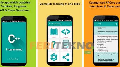 Menciptakan atau menciptakan sebuah program dalam bentuk website atau juga dapat aplikasi merup 5+ Aplikasi Untuk Belajar Coding atau Pemrograman di HP Android