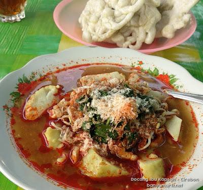 Kuliner Cirebon - Docang Ibu Kapsah