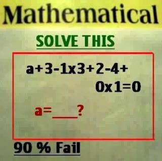 Mathematical Puzzle for Teens
