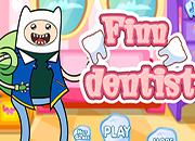 Finn en el dentista
