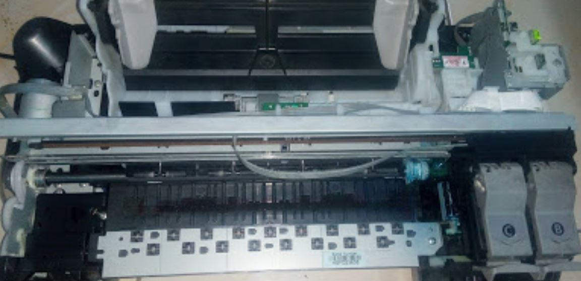 Cara test printer canon ip2770 tanpa komputer