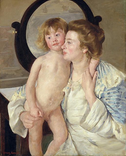 Mary Cassatt - madre e figlio