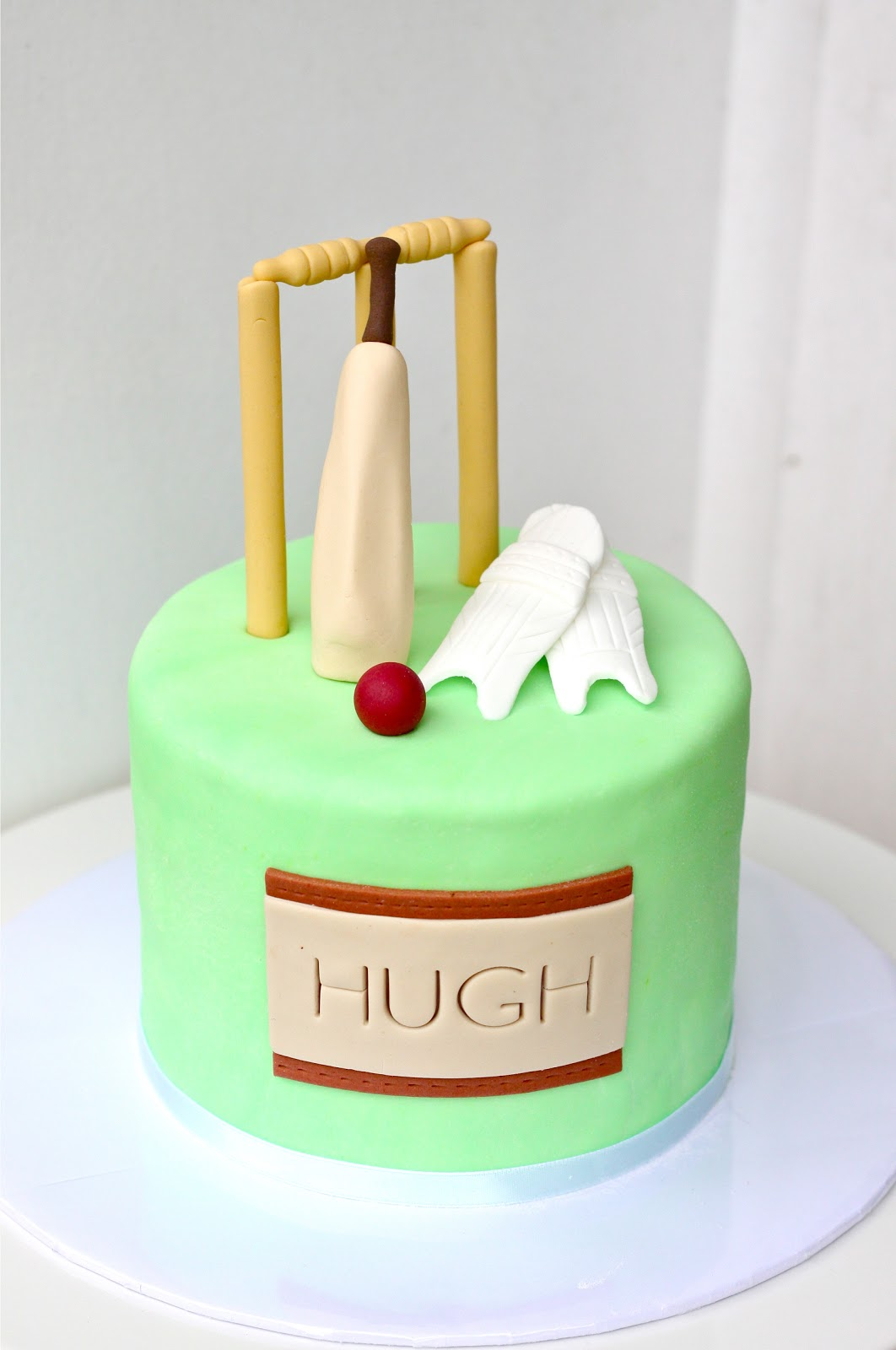 Sweet Art Cakes By Milbree Moments Cricket Cake Hughlala