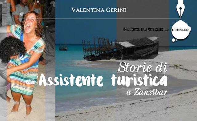 Storie di un'assistente turistica a Zanzibar, racconto - cover