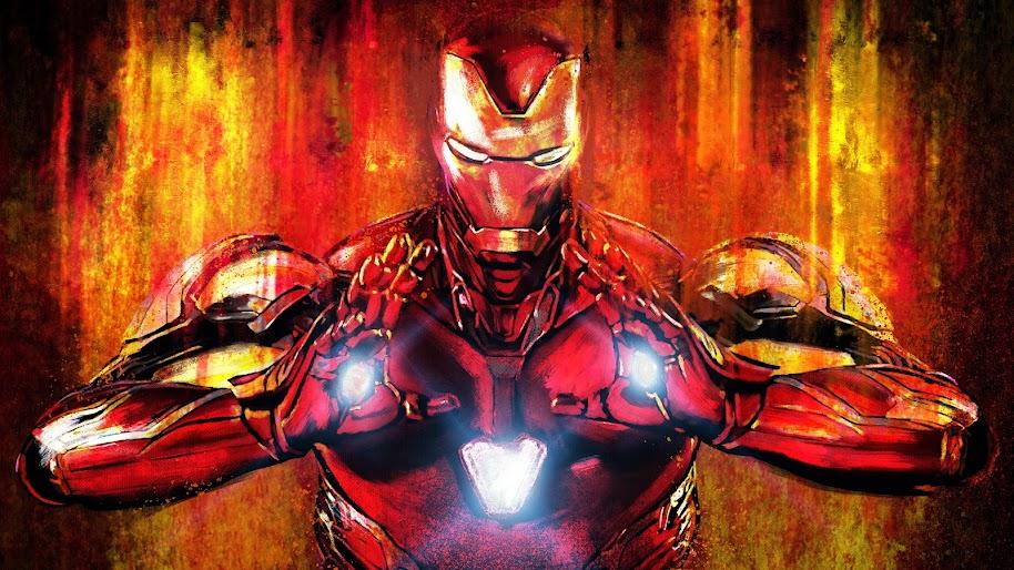 avengers endgame iron man uhdpaper.com 8K 148