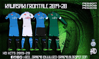 PES 2017 J-League 1 Kitpack 2019-20 HD By Geo_Craig90
