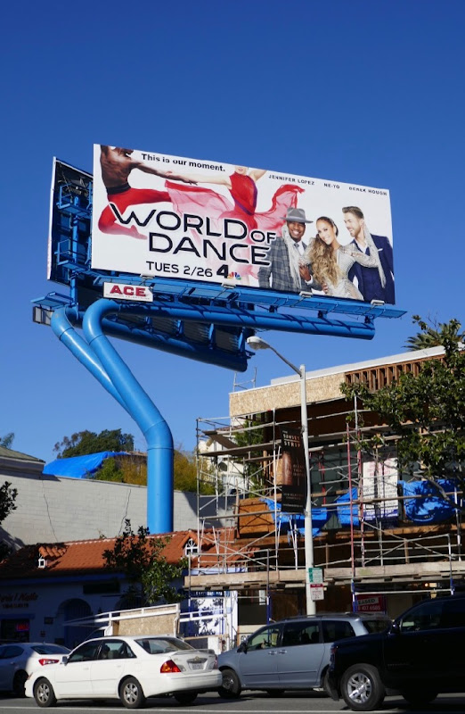World of Dance season 3 billboard