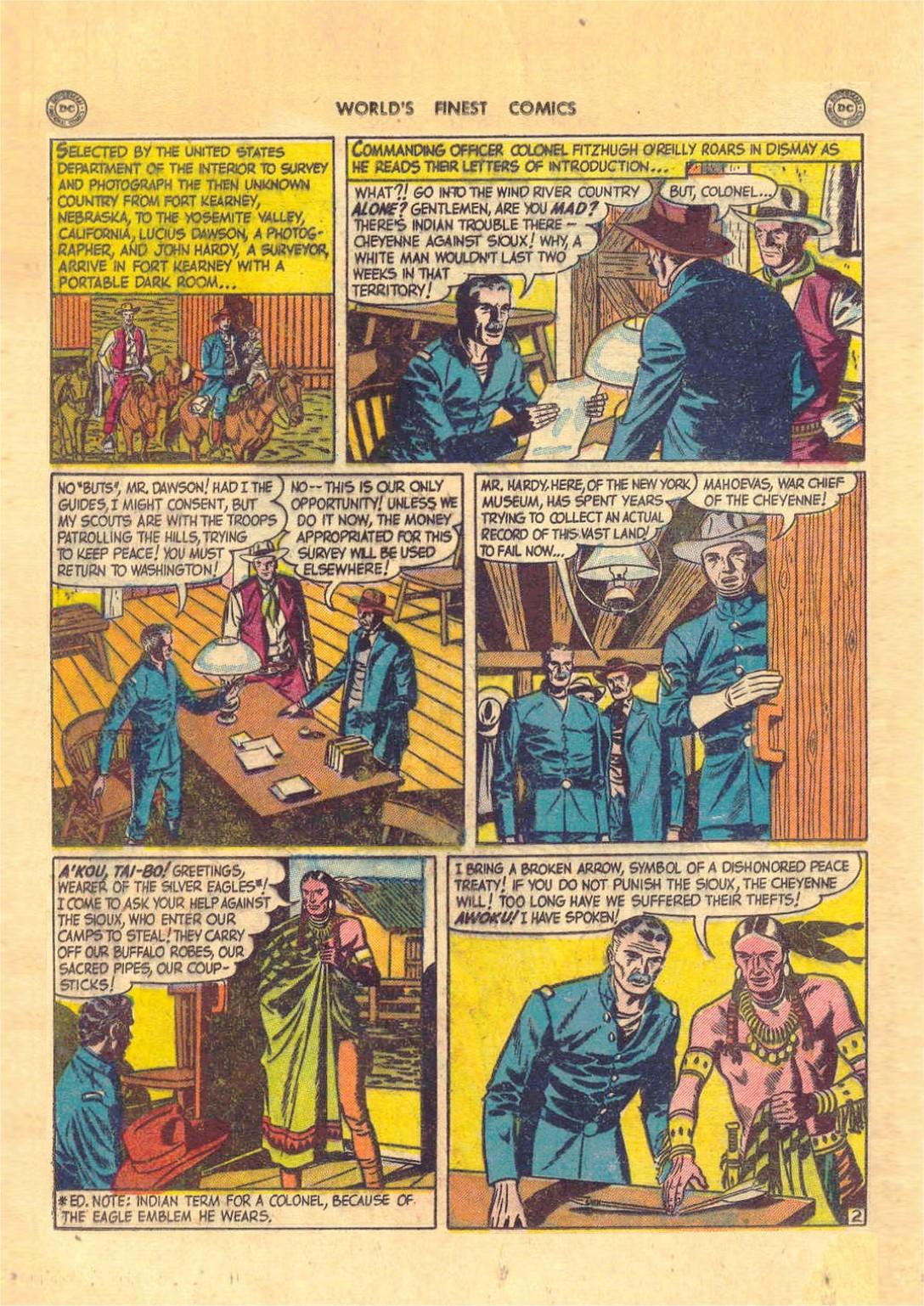 Read online World's Finest Comics comic -  Issue #52 - 16