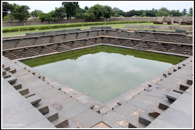 Stepped Tank, Hampi