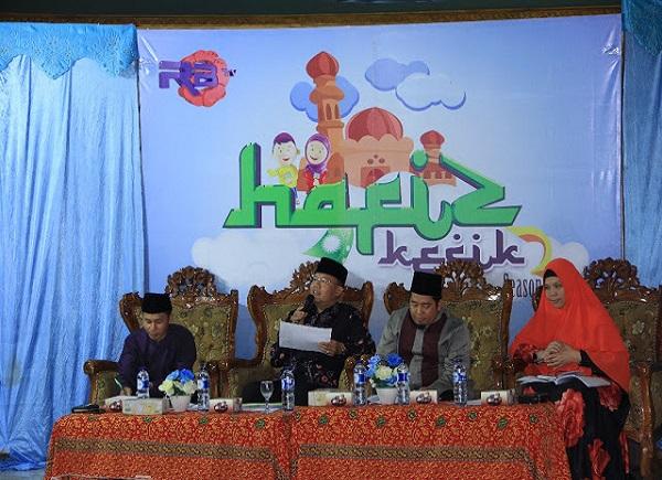 Seleksi Hafidz Kecik 2017, Wagub jadi Juri Kehormatan