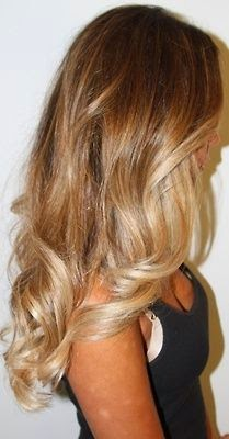 Perfect perfect blonde ombré - beautiful color...
