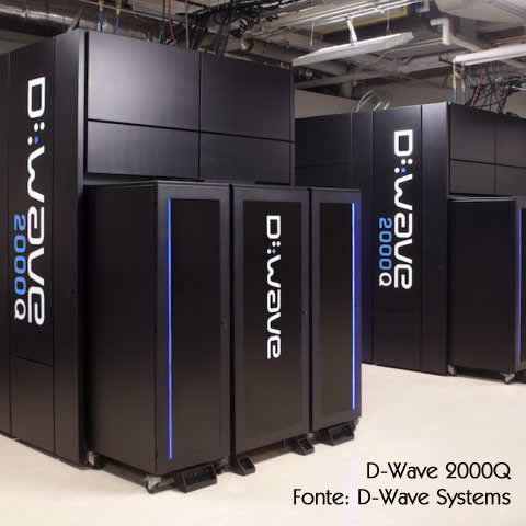 Computador quântico D-Wave 2000Q