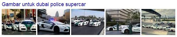 Supercar Polisi Dubai