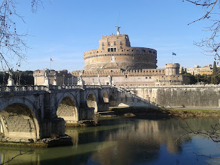 Clement VII escaped to Castel Sant'Angelo along a secret passage while the Swiss Guard fought on the steps of St Peter's
