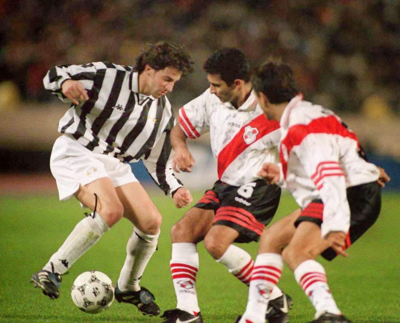 e904109e3 ... le sue insinuazioni sulla vittoria della Juventus della Coppa  Intercontinentale contro il River Plate del 1996. Abbiamo vinto quel trofeo  e la Coppa dei ...