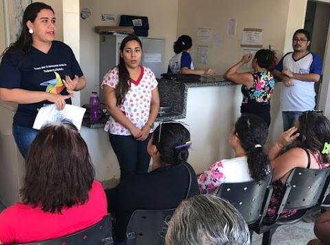Profissionais de saúde de Areia Branca realizam ações de combate à tuberculose