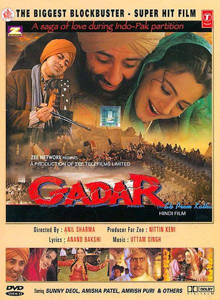 Gadar Hindi Movie Mp3 Song Free Download