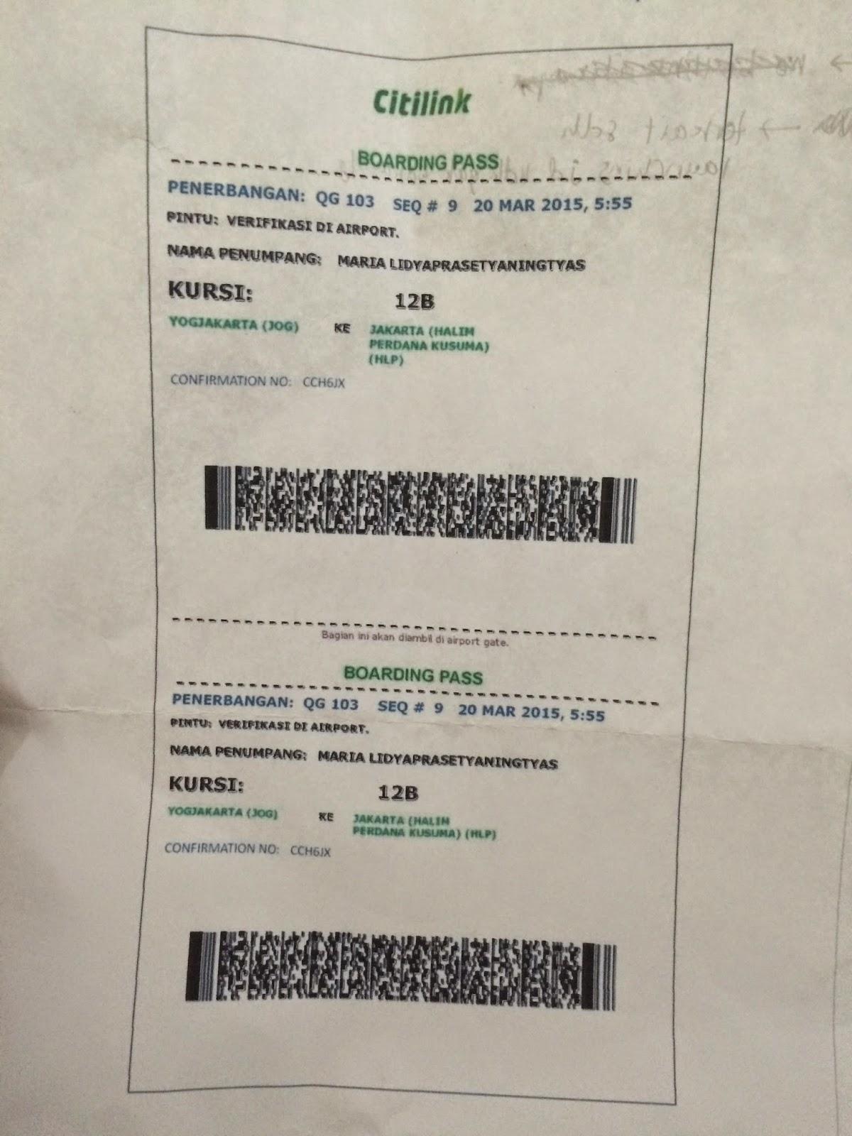 Cara Naik Pesawat Jogja Jakarta