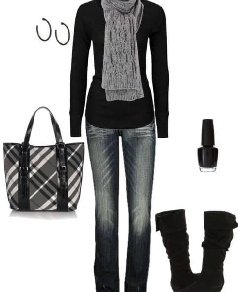 Collection, formal, black Jeans ,for Winter