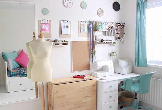Sea Salt & Stitches: A Tour of my Sewing Room