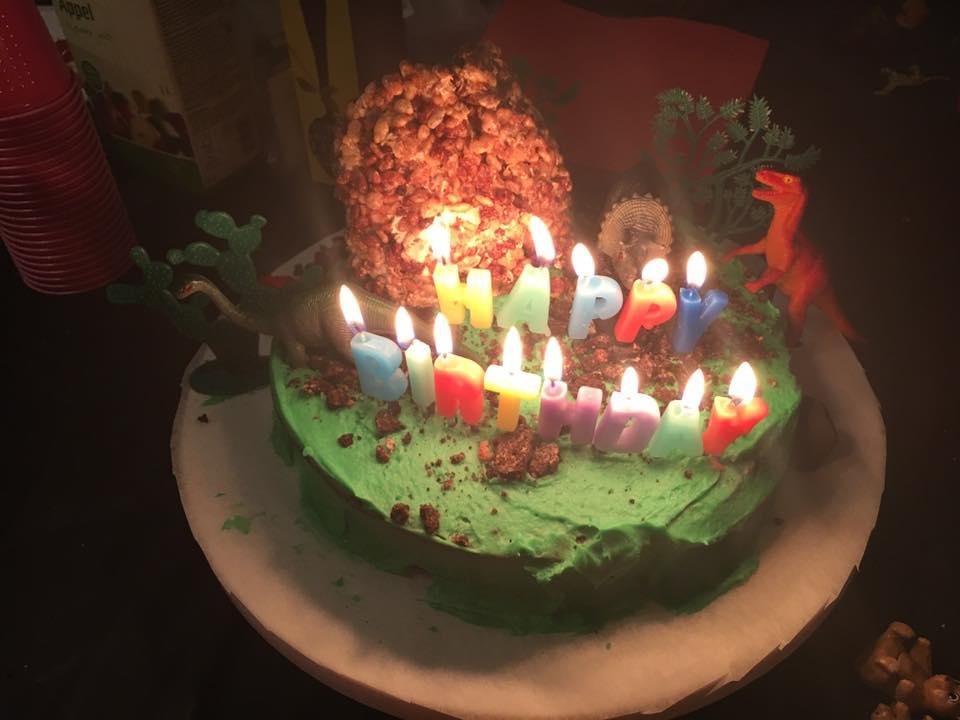 Blogging In My Undies Birthday Cake