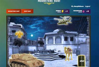 Begini Cara Mengikuti Website Event PB Garena Moonstone Hunt, Dapatkan Energy, Cari Moonstone dan Redeem Hadiah.