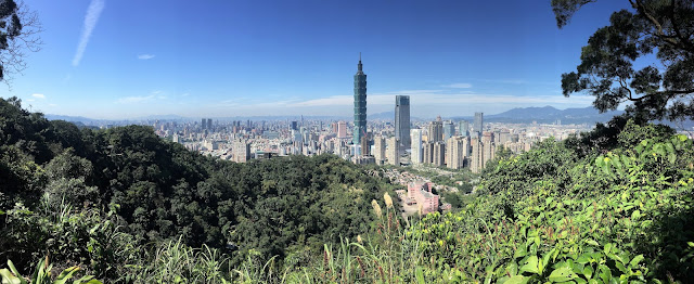 taipei 101 elephant mountain taiwan