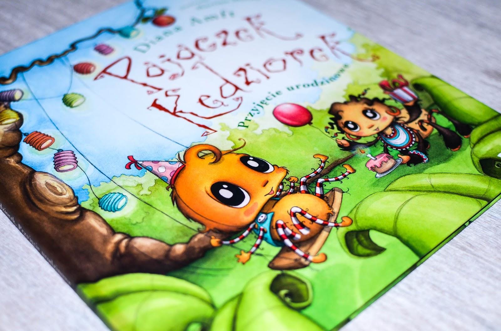 książki dla przedszkolaka, Debit, patronat, Pajączek Kędziorek