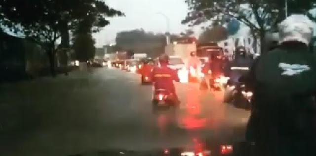 Netizen Heboh Komentari Video Viral Meikarta Kebanjiran