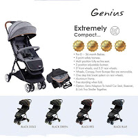 babyelle s352 genius stroller