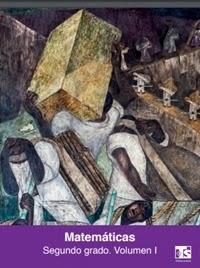 Libro de texto Telesecundaria Matemáticas Volumen 1 Segundo grado 2019-2020