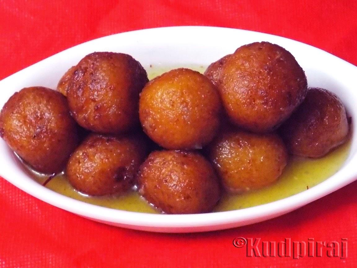 Kudpiraj's Garam Tawa: Gulab Jamun(Authentic Punjabi Style)