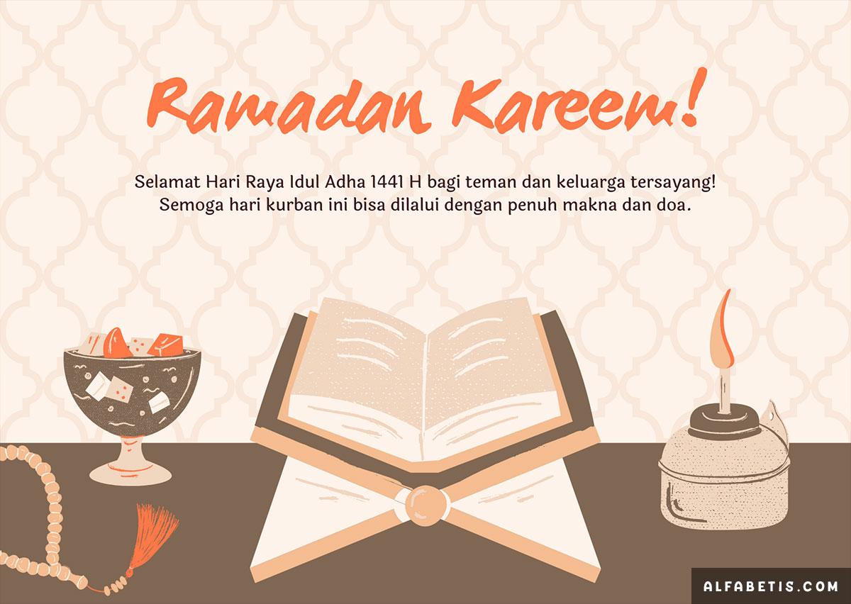 Gambar Kata Ucapan Selamat Idul Adha 1441H Terbaru