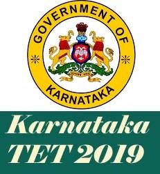 Karnataka TET 2019 Notification, Karnataka TET 2019 Application form