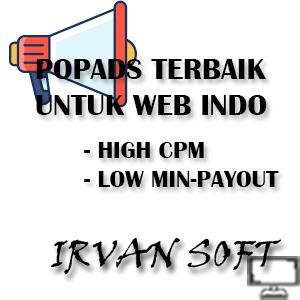 Situs POPADS TERBAIK untuk Website Indonesia