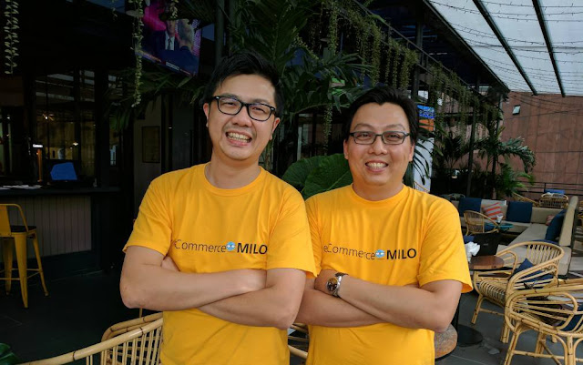 CK and Adrian from eCommerceMILO