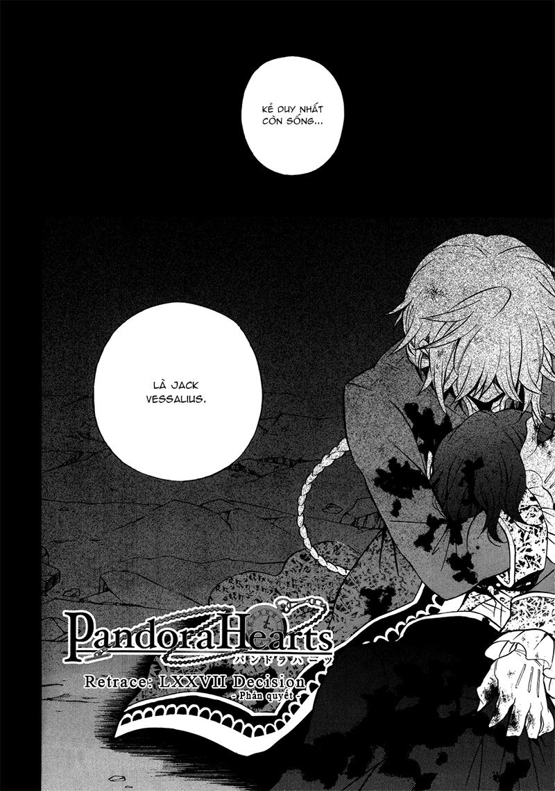Pandora Hearts chương 078 - retrace: lxxviii decision trang 6