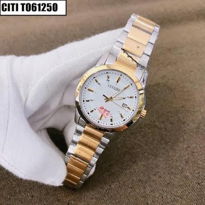 Đồng hồ nam dây inox trắng CITI T061250