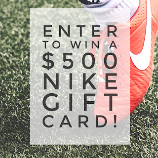 Enter the Nike Gift Card Giveaway. Ends 5/13