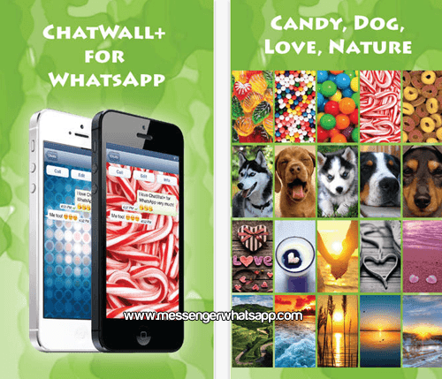 Fondos dulces y bonitos con ChatWall for WhatsApp