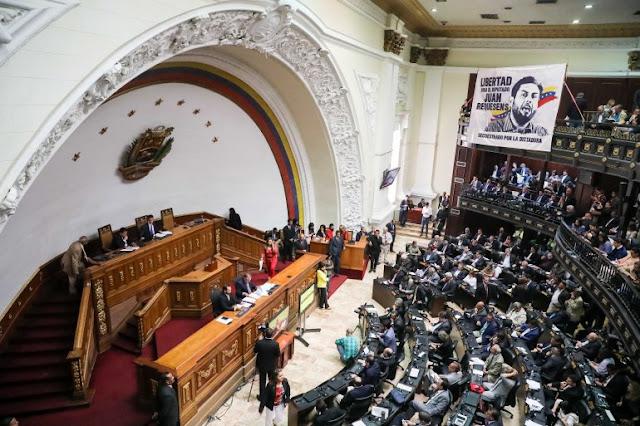 Asamblea Nacional venezolana dio luz verde para la entrada de ayuda humanitaria.