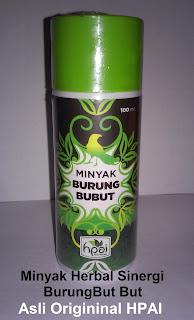 khasiat manfaat minyak herba sinergi but but hpai original