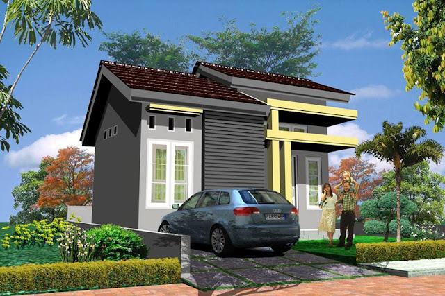 rumah minimalis satu lantai murah