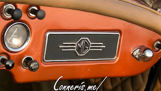 Copper MG MGA dashboard