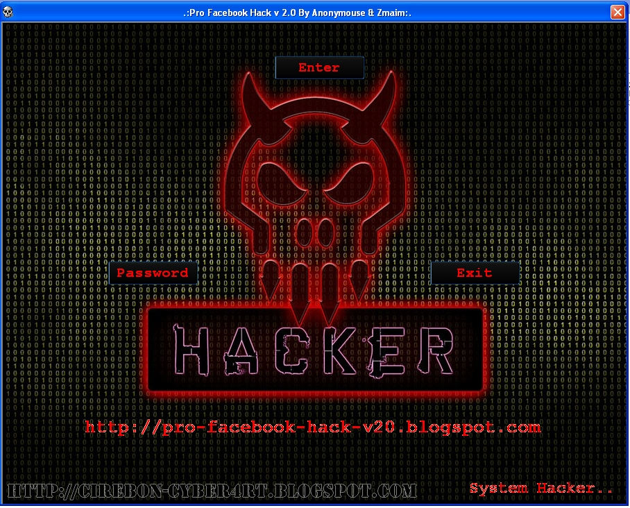 Pro Facebook Hack V2.0 By Anonymouse & Zmaim