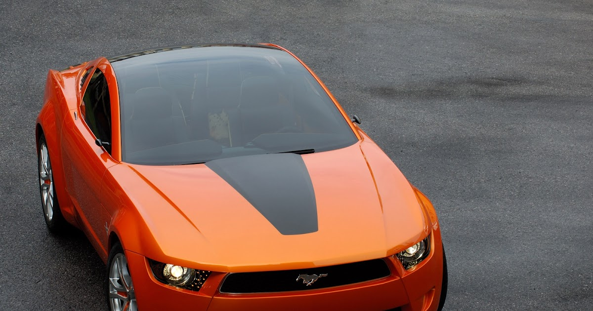 8 Seat Suv >> Daily Concept Cars: The 2015 Giugiaro Ford Mustang concept