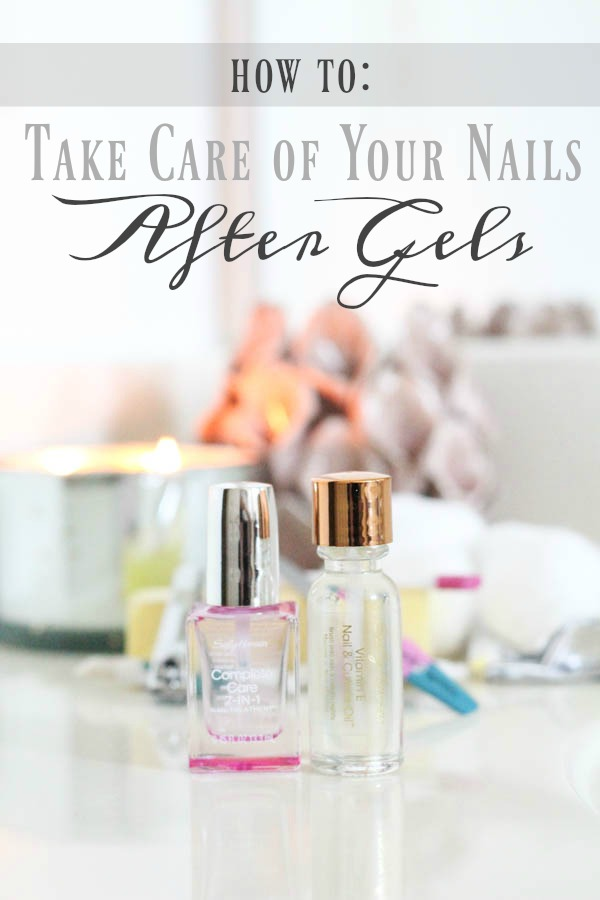 Breezy Days: How to: Take Care of Your Nails After Gels