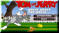 Help #Jerry get past #Tom to get a snack in the house. #FlashGames #CartoonGames
